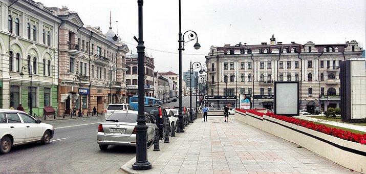 City, Architecture, Vladivostok, Urban, Building