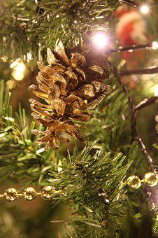 Christmas, Pine Cones, Decoration, Advent, Deco