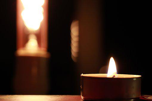 Sailing, Light, Fire, Night, Flame, Candles, Prayer
