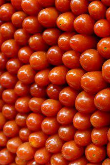 Tomato, Small, Mini, Fruit, Food, Healthy, Red, Stack