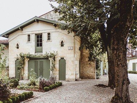 Castle, France, Travel, Tourism, Wine, Grape, Village