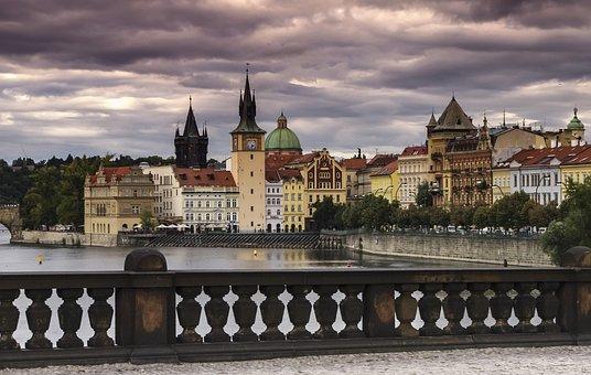 Prague, Antiquity, Architecture, History, Postcard