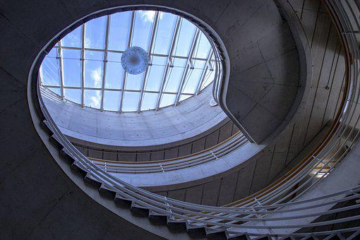 Building, Stairs, Architecture, Interior, Heaven, Steps