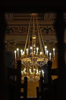 Lamp, Chandelier, Light, Decoration, Lighting, Deco