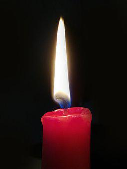 Light, Stearic, Flame, Candles