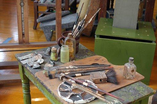 Paintings, Oils, Oil, Colors, Palette, Painting