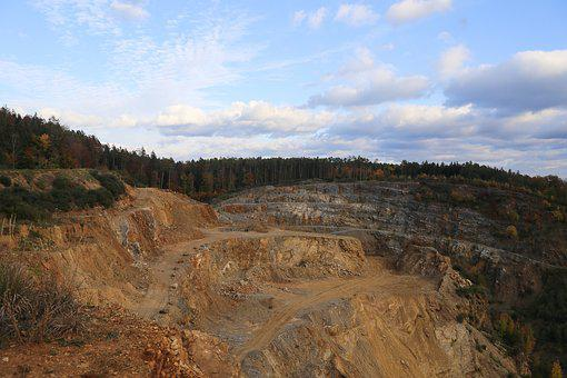 Mining, Removal, Industry, Commodity, Rock