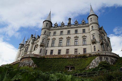 Dunrobin Castle, Castle, Fairy Castle, Scotland