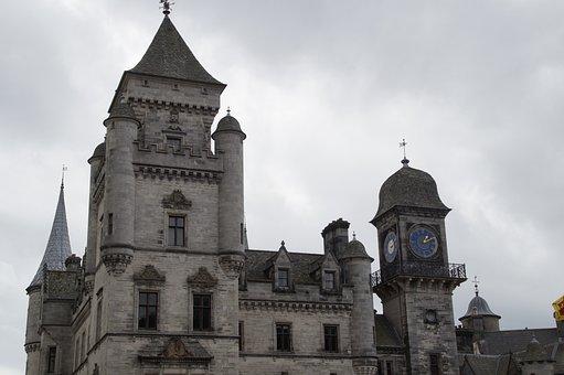 Dunrobin Castle, Tower, Scotland, Fairy Castle
