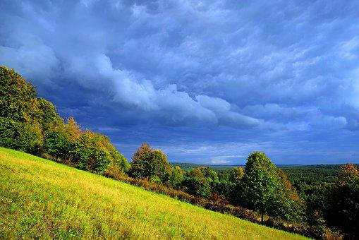 Bukova Gora, Mite, Storm Clouds, Landscape, Cloud Cover