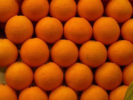 Oranges, Orange, Tangerine, Fruit, Citrus Fruits, Sano