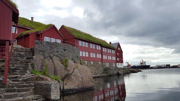 Torshavn, Faroer Islands, Faro Islands, Europe