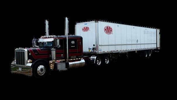 Truck, American, Transport, Vehicle, Traffic, Shipping