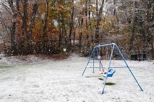 Snow, Christmas, Season, White, Snowflakes, Snowfall