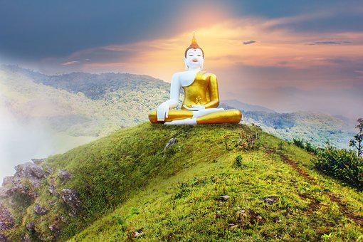 Buddha, Thai, Buddha Statue, Religion, Thailand, Asia