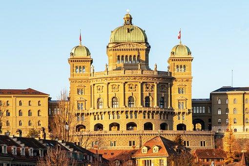 Bundeshaus, Houses Of Parliament, Switzerland, Bern