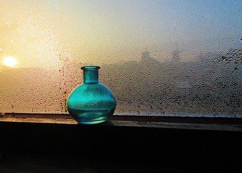 Bottle, Glass, Fittings, Window, Condensation, Lighting