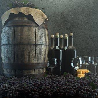 Wine, Cellar, Dust, Grapes, Alcohol, Harvest, Vineyard