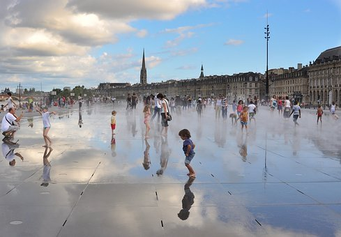Bordeaux, Water, City Centre, Urban Planning, Docks