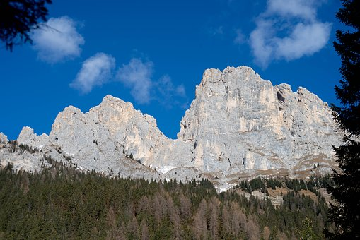 Dolomites, The Cime D'auta, Italy, Vista