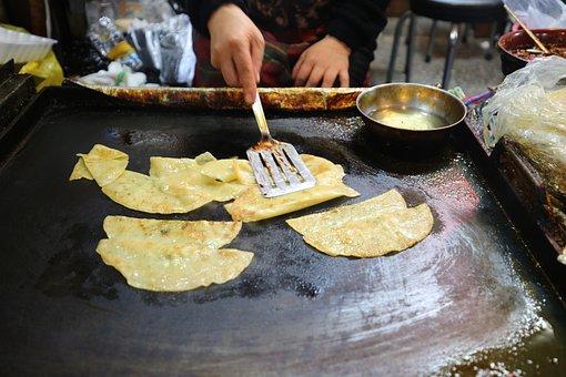 Dumplings, Food, Roast, Daegu, Flat All, East Market