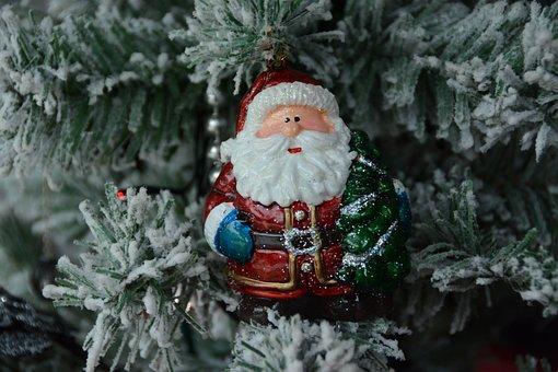 St Nicholas, Father Christmas, Garland, Christmas