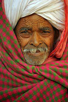 Indian, Man, Hindu, Portrait, India, Indians, Face
