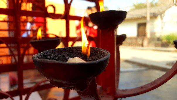 Diyo, Light, Festive, Candles, Lamps