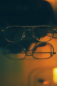 Glasses, Sunlight, Light, Glass, Sun, Winter, Cool