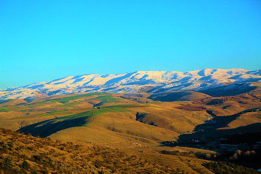 Mountain, Snow, Snowy, Land, Nature, Mountains, Winter