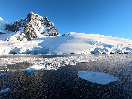 Antarctica, Mountain, Snow, Landscape, Scenic, Polar
