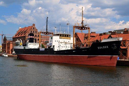 The Museum, Ship, Sea, Retro, Monument Technology