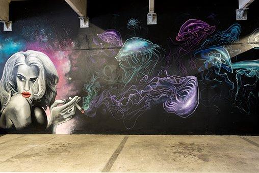 Graffiti, Mural, Streetart, Chris Rogers, Austin, Atx