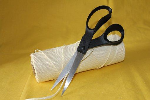 String, Scissors, Packing, Wallpaper, Template, Craft