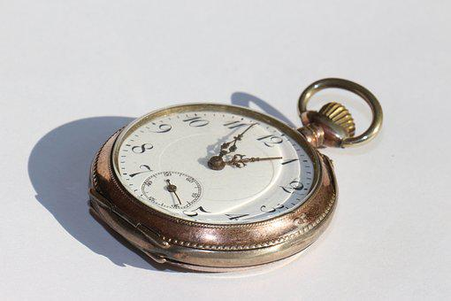 Time, Pocket Watch, Clock Face, Nostalgia