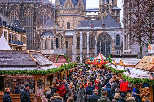 Christmas Market, Christmas, Aachen, Dom, Advent
