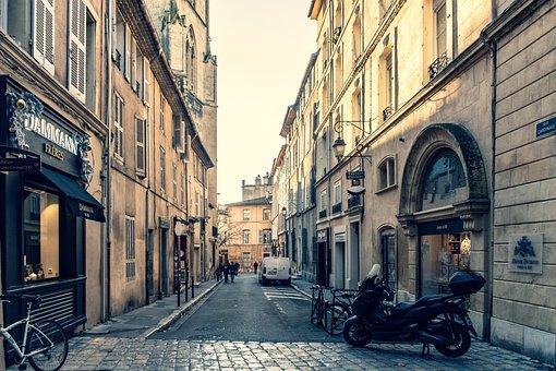 City, Aix-en-provence, Provence, France, Europe