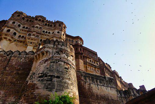India, Fort, Architecture, Building, Castle, Fortress