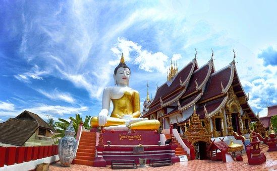 Buddha, Thai, Prasing, Buddha Statue, Asia, Thailand