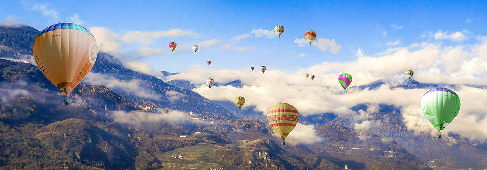 Travel, Adventure, Freedom, Nature, Balloon, Flying