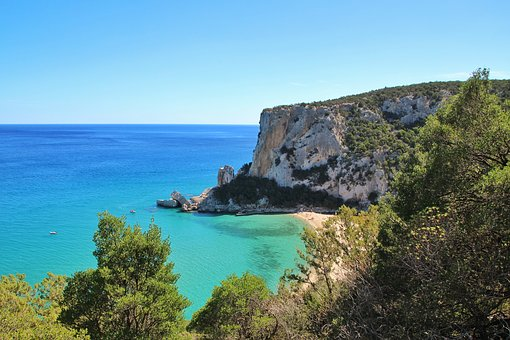 Sardinia, Sardegna, Calaluna, Calagonone, Hiking, Sun