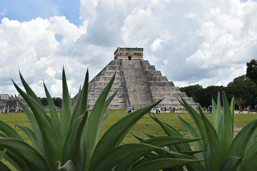 Chichen Itza, Mexico, Pyramid, The Incas, Sights