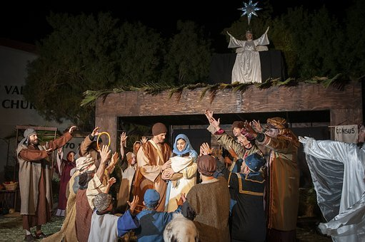 Living Nativity, Nativity, Creche, Christmas