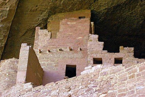 Cliff Palace At Mesa Verde, Ruin, Anasazi, Mesa, Verde