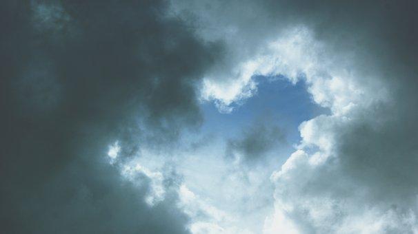 Sky, Clouds, Travel, Beach, Sunset, Landscape, Nature