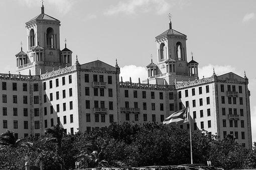 Cuba, Havana, Malecon, Nostalgia, Hotel Nacional