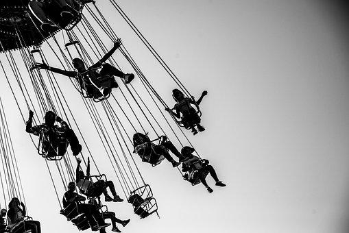 Mindset, Fair, Swing, Happy, Kid, Smile, Ride, Carnival