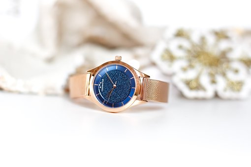Watch, Ladies Watch, Jewelry, Gift, Asterisk, Glitter