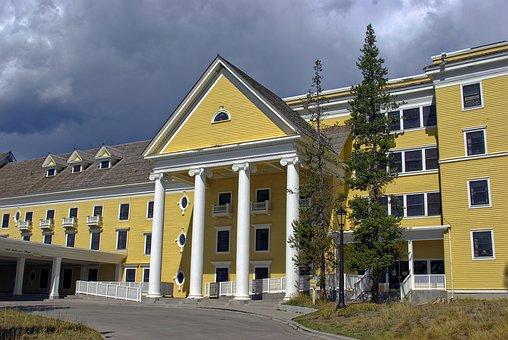 Yellowstone Lake Hotel, Hotel, Lodging, Yellowstone