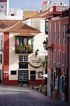 House, Colorful, Balcony, Plant, Flowers, Lapalma